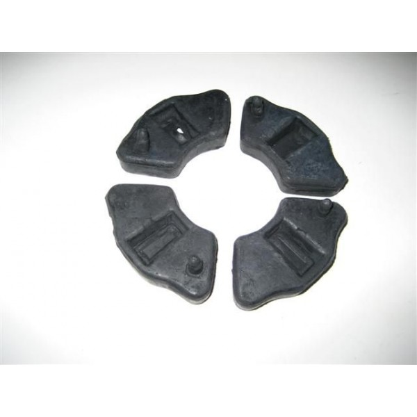 Honda 70 Back Sprokets Rubbers Set