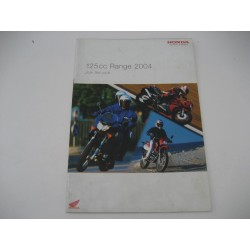Honda Range Book 2004