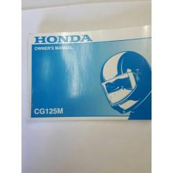 Honda CG125M Owners Manual