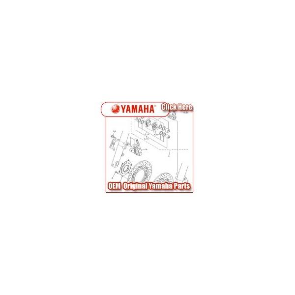 Yamaha - Part No. 102-25304-00 - spokes set