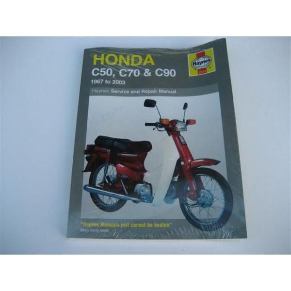 Honda Manual C50 Book