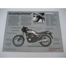 Kawasaki Z400FII