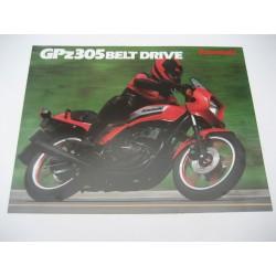 Kawasaki GPZ305 - Belt Drive