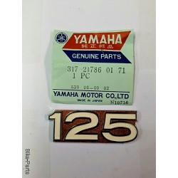 Yamaha  317 21786 0171 Emblem 125