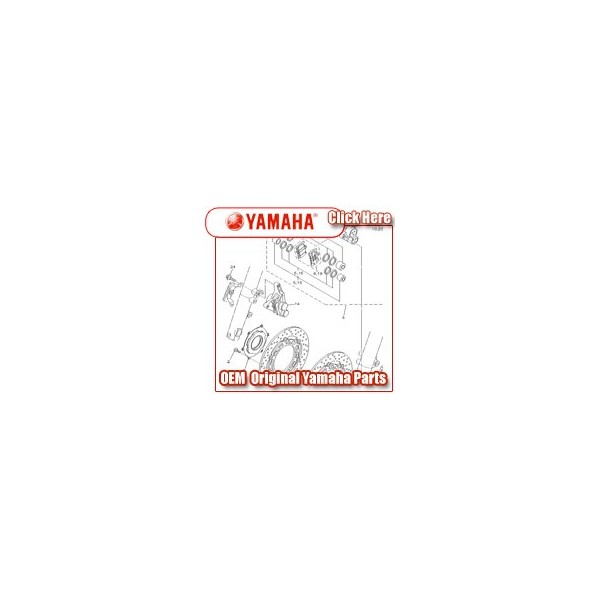 Yamaha - Part No. 102-25321-0038 - brack plate