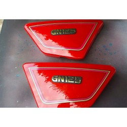 Suzuki  GN125 Side Casing Red