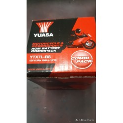 Yamaha YBR125 Battery 12V YTX7L-BS