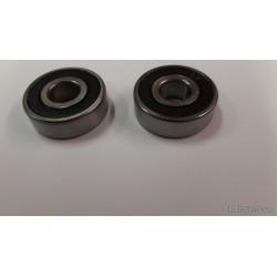 Honda CD175 Back Wheel Bearings ×2