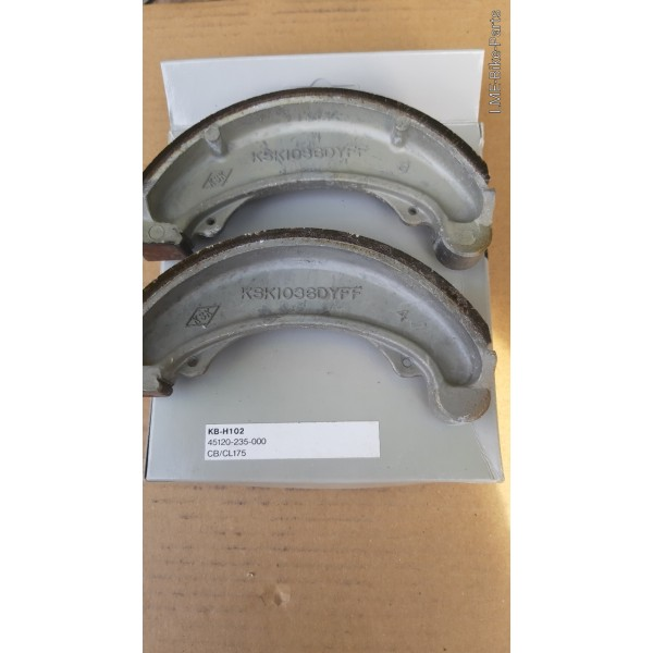 Honda Brake Shoe 45120-235-000 CB/CL175