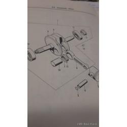 Honda CD90Z Crank Bearings Set 96100-63050