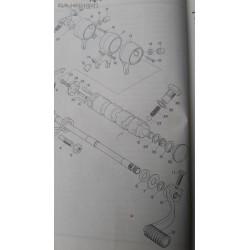 Yamaha YAS1 93101-12004 Gear Shaft Seal
