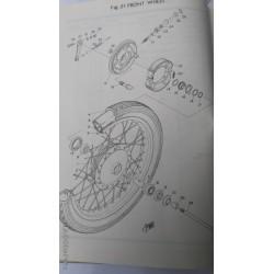 Yamaha YAS1 93102-18008 Front Wheel Seal