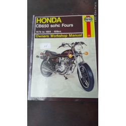 Haynes Honda CB650 SOHC Fours Manual Book