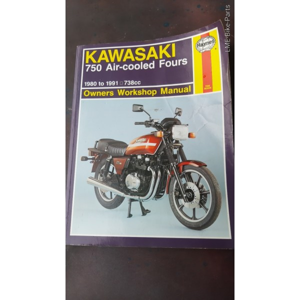 Haynes Kawasaki 750 Air Cooled Fours