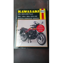 Haynes Kawasaki 400 500 550 Fours Manual Book