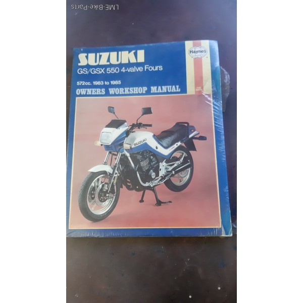 Haynes Suzuki Owners Workshop Manual