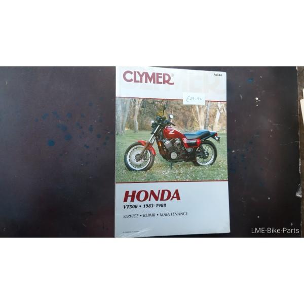 Clymer Honda VT500 SERVICE Maintenance M344