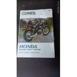 Clymer Honda 400 450 cc Twins 1978To 1987