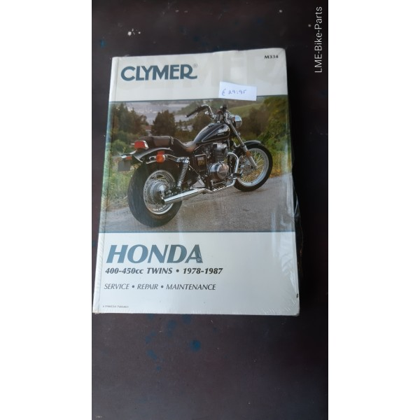 Clymer Honda 400 450 cc Twins 1978To 1987