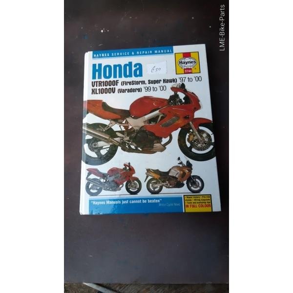 Haynes Honda Firestorm Super Hawk Varadero