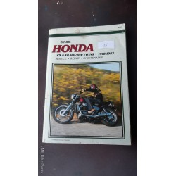 Clymer M335 Honda CX/ GL500/650 Twins