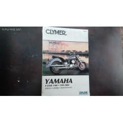 Clymer Yamaha M281 V-STAR 1100 Book