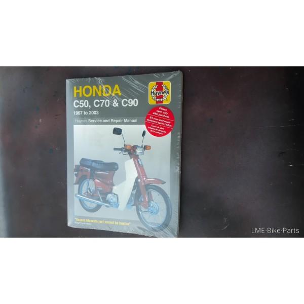 Honda C50 C70 C90 Service Repair Manual