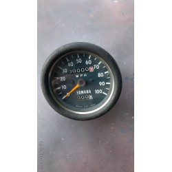 Yamaha Speedometer  Clock New Old Stock