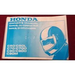 Honda C50 C50L C70 C90 Owners Manual