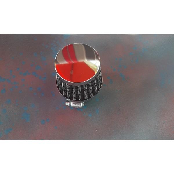 Power Air Filter 35mm chrome Cap