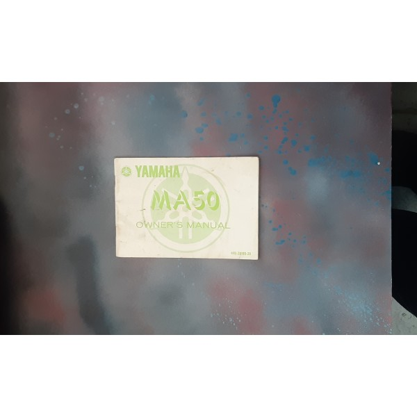 Yamaha MA50 Owners Manual 4FO-28199-20