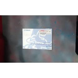 Yamaha Bulldog BT1100 5JN-F8199-E5
