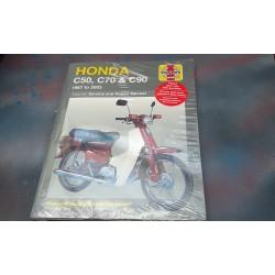 Honda C50 C70 C90 C50E C70E C90E Manual