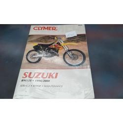 Suzuki RM125 1996 /2000 Service Repair