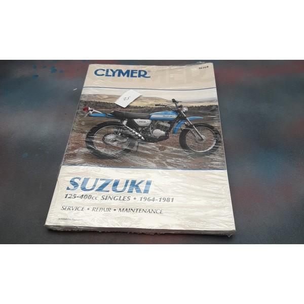 Suzuki 125-400 Singles 1964 To 1981 CLYMER