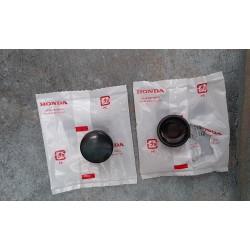 Honda 52161-051-000 Cap Black set of 2