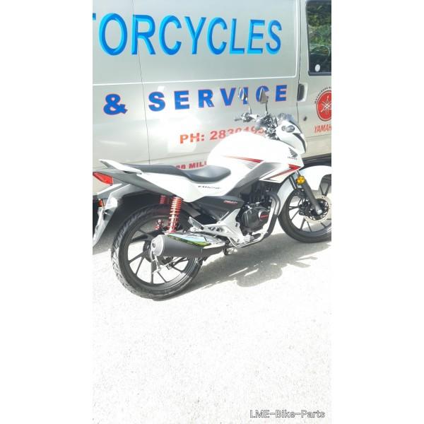 New Honda CB125F  in White