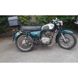 Honda CD175 For Sale 1977 Green SOLD