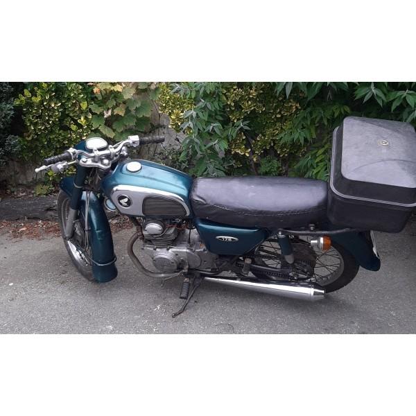 Honda CD175 Green SOLD