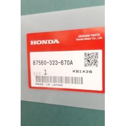 Honda 87560-323-670A Preserve Sticker